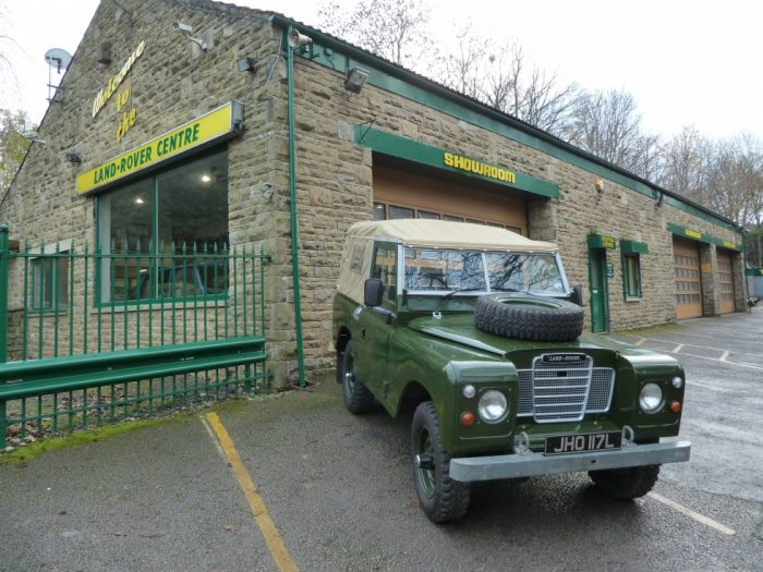 1972 Series 3 Land Rover Soft Top
