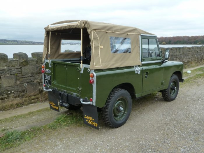 Tax Exempt 1972 Series 3 Land Rover Soft Top