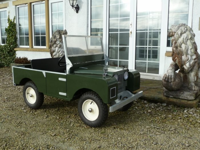 Scale Model - Electric Powered - Series I Land Rover