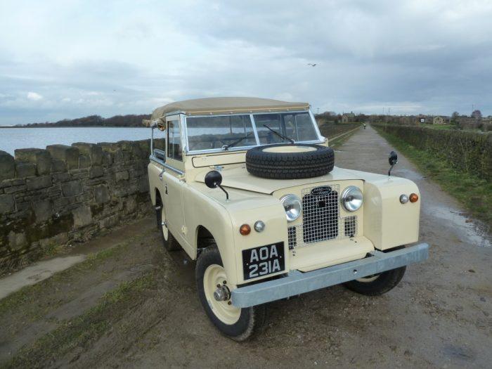 1962 Land Rover Series 2A