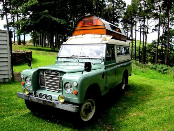 1972 Land Rover Series 3 Carawagon