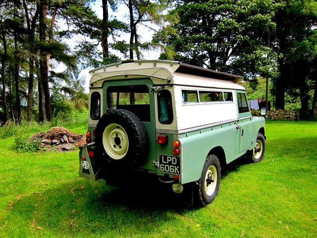 1972 Land Rover Series 3 Carawagon