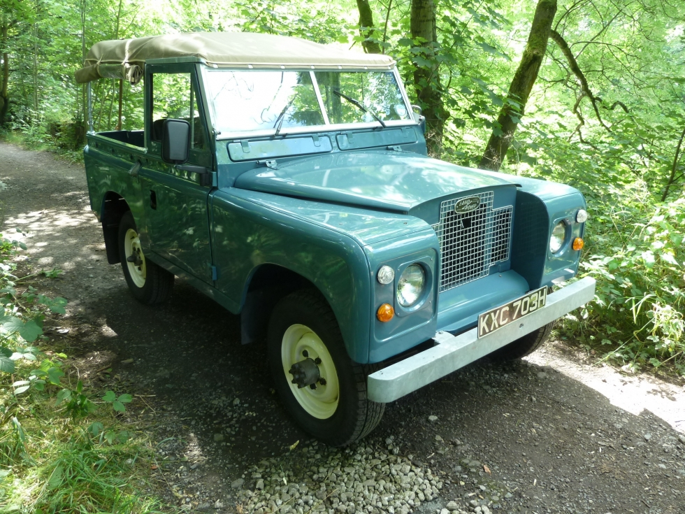 1970 Series IIA Soft Top