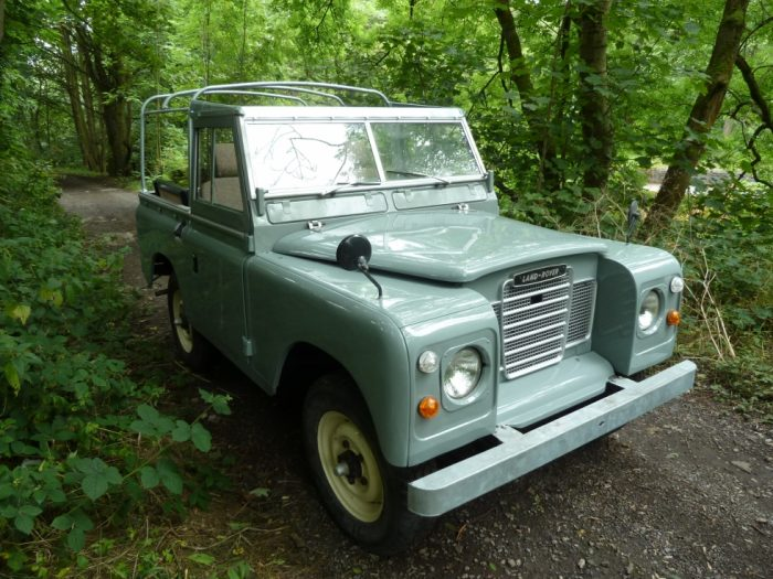 1977 Series 3 Soft Top - Mid Grey