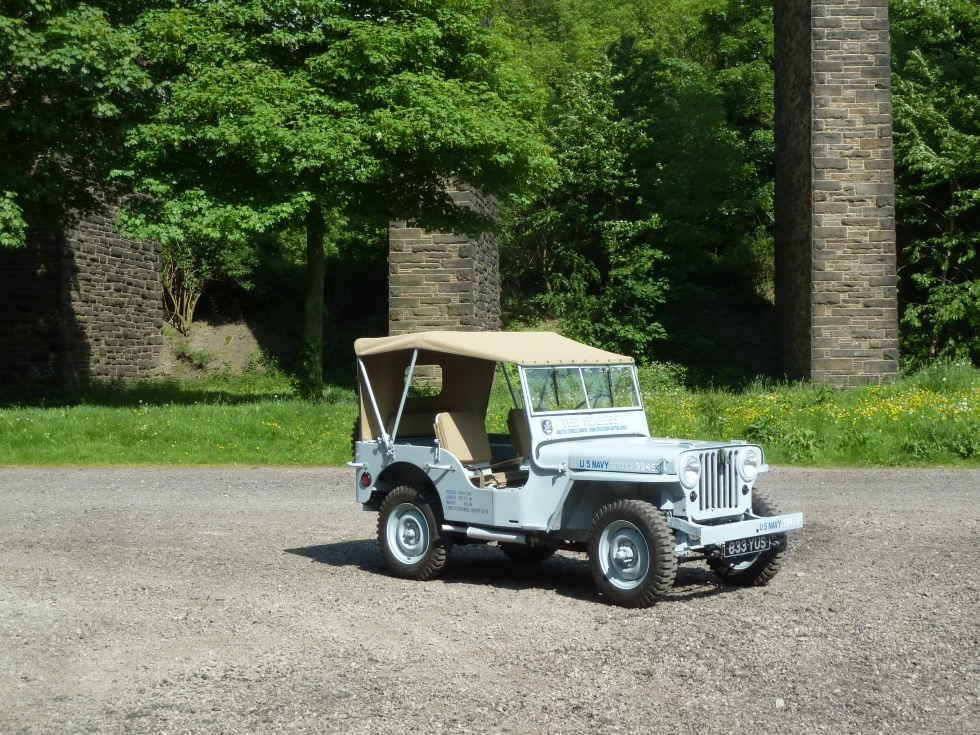 1946 CJ2A Willys Jeep