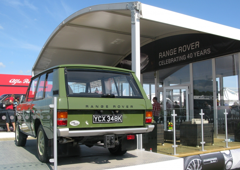 1971 Range Rover Classic - Goodwood festival of speed