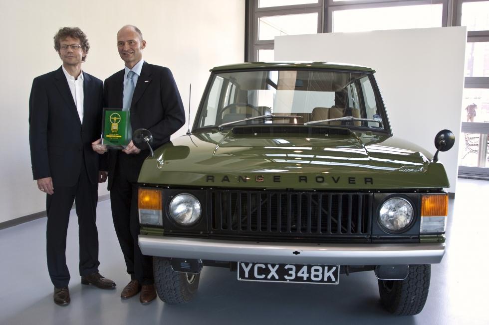 1971 Range Rover Classic At Wolfsburg