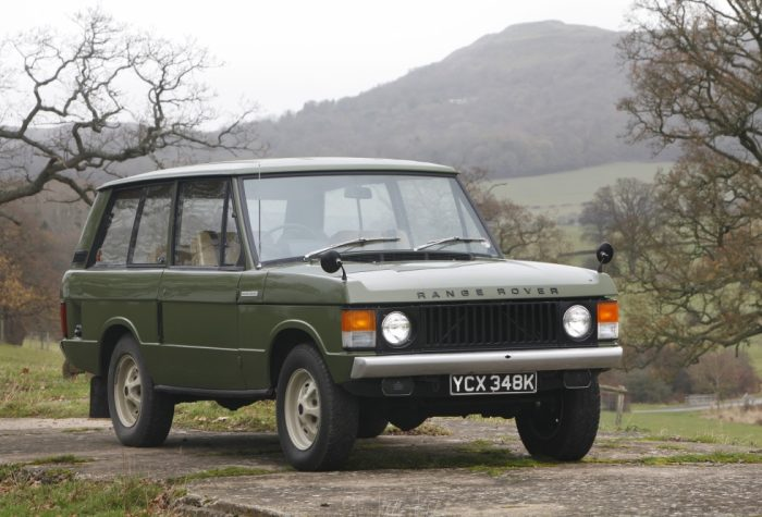 1971 Range Rover Classic At Eastnor 50th