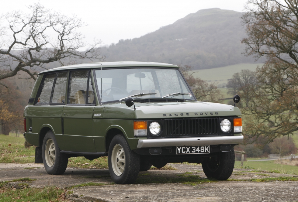 1971 Range Rover Classic - Eastnor Castle