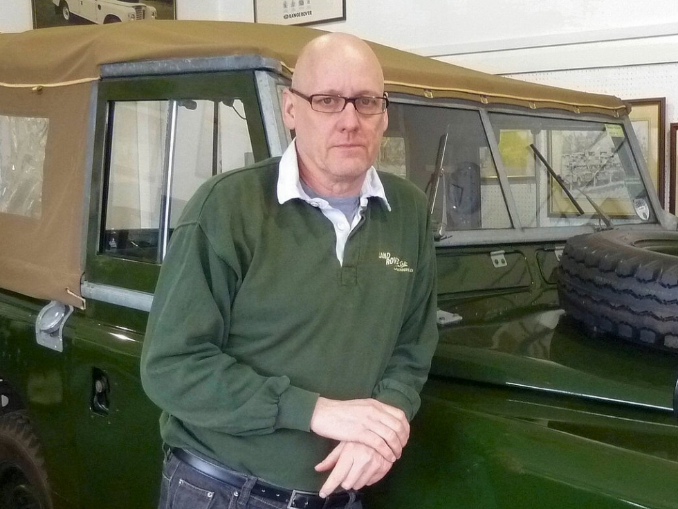 Mark Griffiths – Land Rover Sales & Export Manager