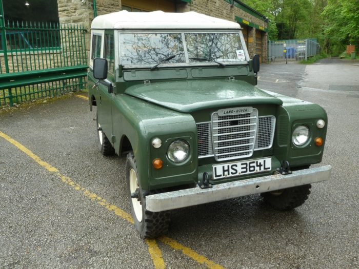 1972 Series 3 Hard Top - Galvanised Chassis