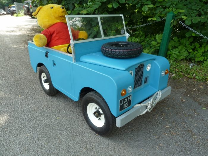 Electric Powered Scale Model Land Rover