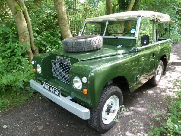 1970 Land Rover Series IIA - Fully Rebuilt