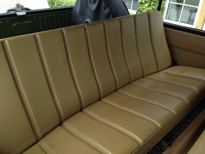 1971 Range Rover Classic - Rear seats