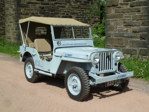 1946 Willys CJ2A Jeep - SeaBees Livery