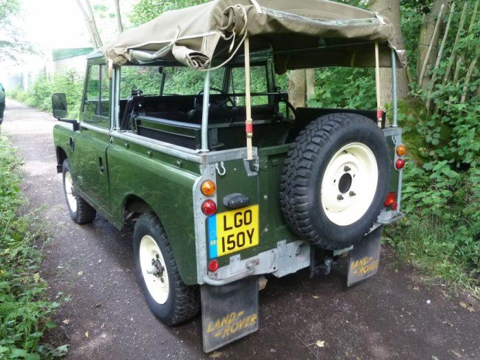 LGO 150Y - 1982 Series 3 Land Rover