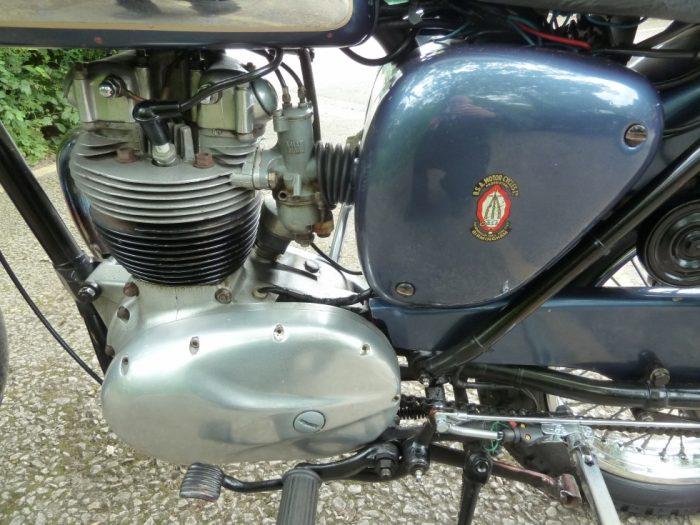 1960 BSA B40 Motorbike