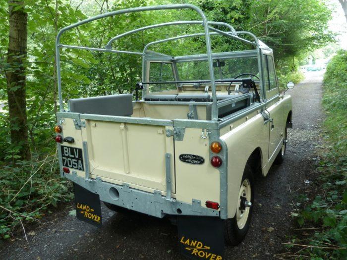 1962 Series IIA Land Rover - Fully rebuilt