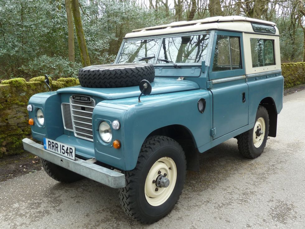 Low Mileage 1977 Land Rover Series 3