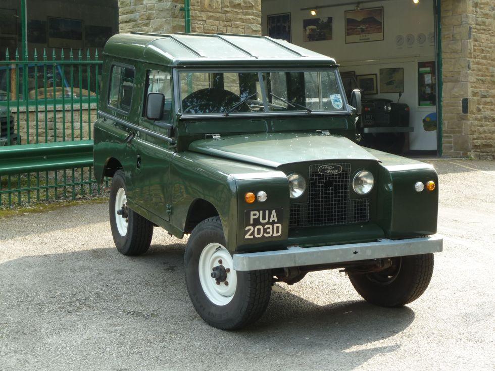 1966 Land Rover Series IIA