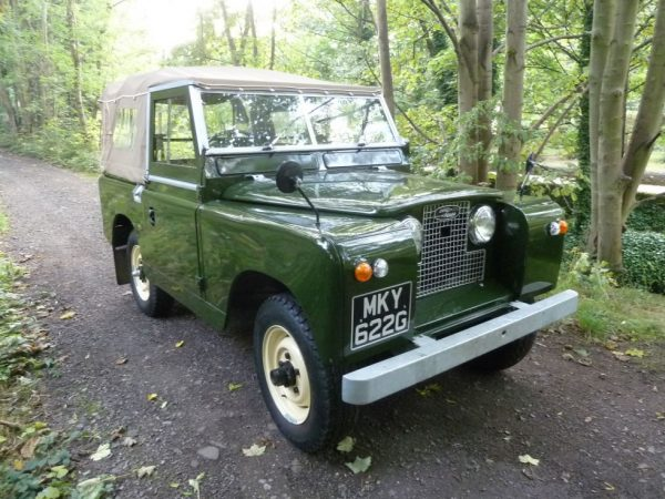 1960 Land Rover Series IIA