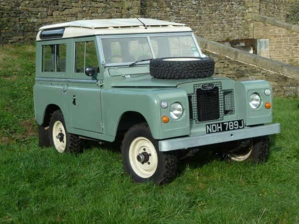 1971 Land Rover Series IIA Station Wagon - Fully Rebuilt