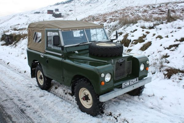 1970 Land Rover Series 2A Soft Top