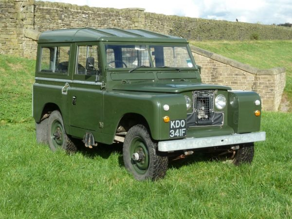 1968 Land Rover Series IIA - Turbo Diesel