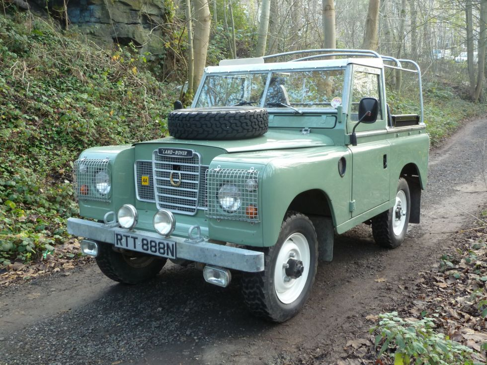 rtt 888n 1974 land rover series 3 66 000 miles. Black Bedroom Furniture Sets. Home Design Ideas