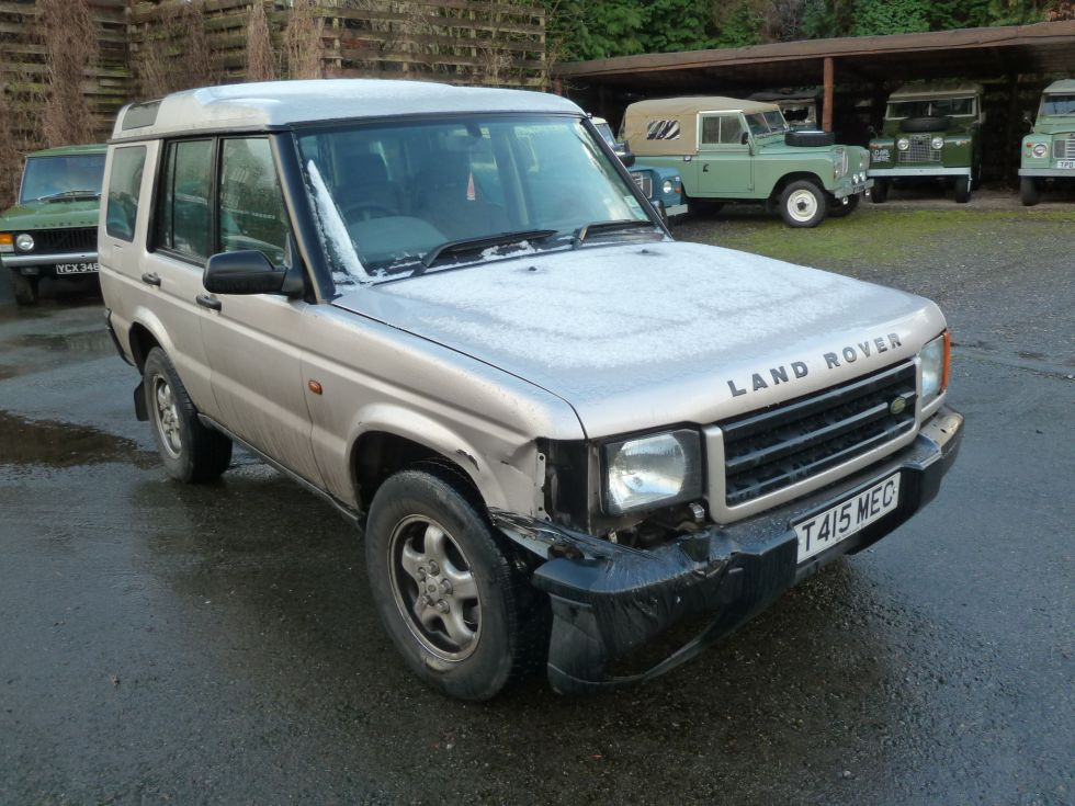 Accident Damaged Discovery 2 - Listed on Ebay - Land Rover