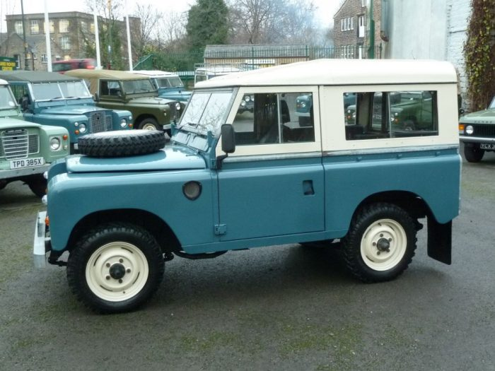low mileage 1981 Series 3 Land Rover