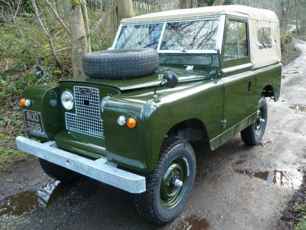 1964 - Land Rover Series IIA