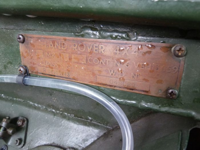 "FEK 479 - 1949 Series I - 80"" ""Ring Pull"" Gearbox"