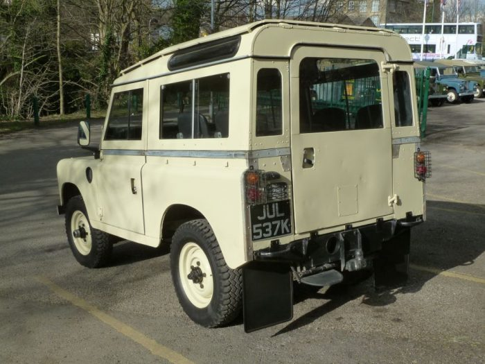 1972 Land Rover Series 3 Station Wagon