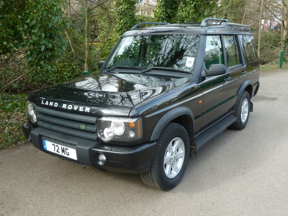 72 mg 2003 land rover discovery td5 auto gs 7 seater. Black Bedroom Furniture Sets. Home Design Ideas