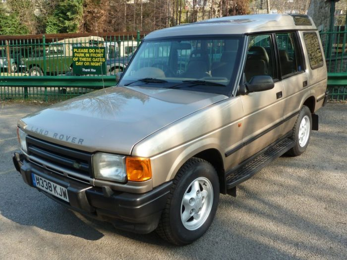 Time Warp - 1994 Land Rover Discovery