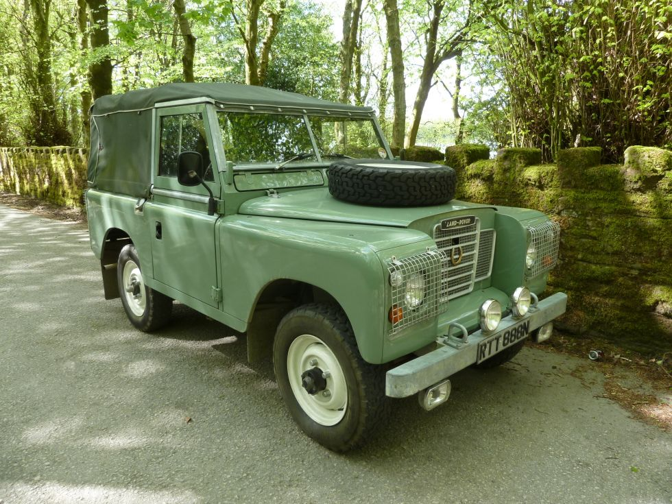 1974 Land Rover Series 3 - Galvanised Chassis