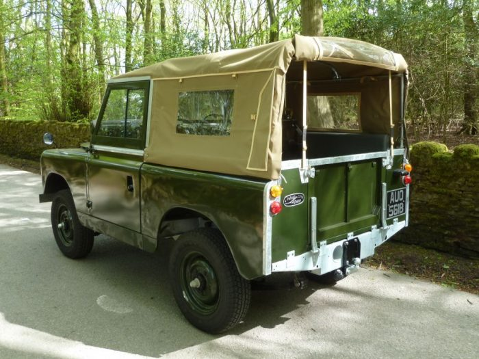 fully rebuilt 1964 Land Rover Series 2A Soft Top