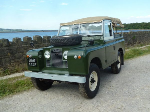 1968 Series IIA Land Rover Soft Top