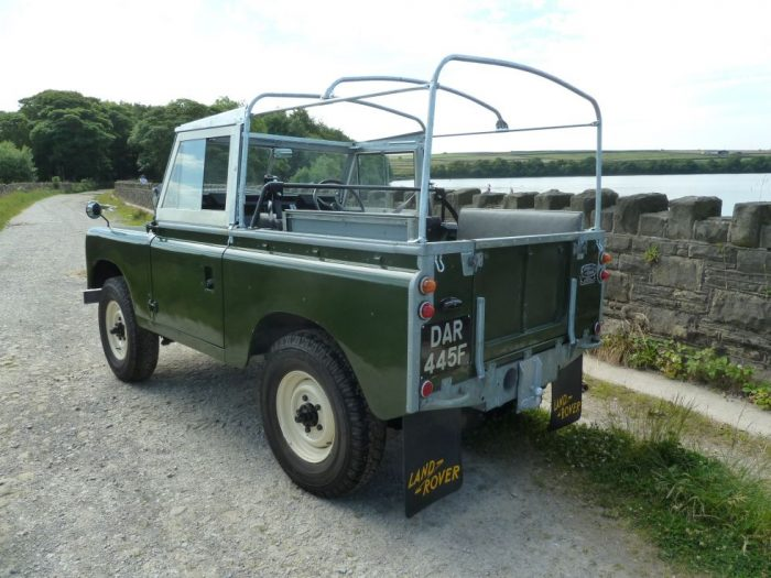 1968 Series IIA Land Rover Soft Top