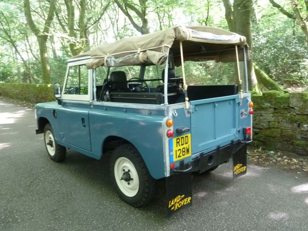1981 Series 3 soft top - Low mileage