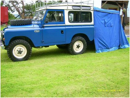 1971 Land Rover Series IIA - Searle safari