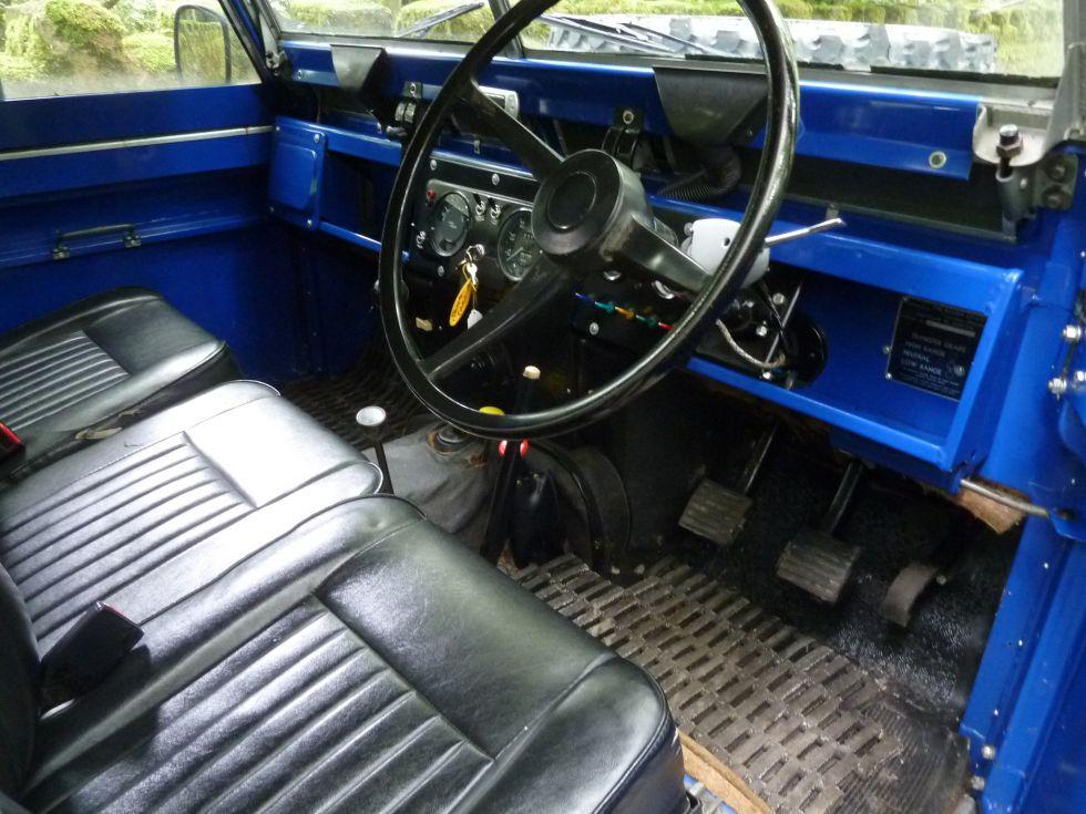 1971 Land Rover Series IIA - Searle safari