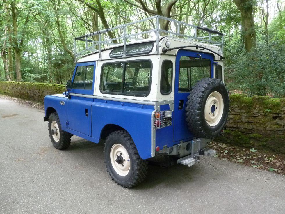Gph 373k 1971 Land Rover Series 2a Rare Searle Safari