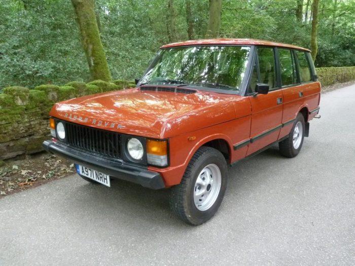 1984 Classic Range Rover