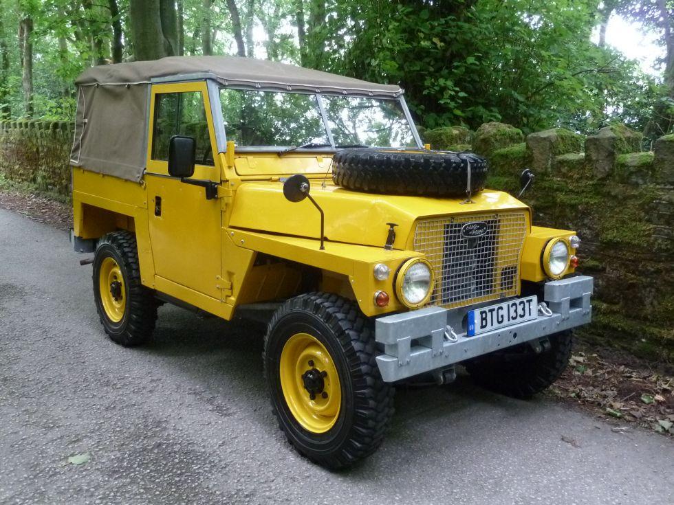 Btg 133t 1978 Series 3 Lightweight X Raf Land Rover