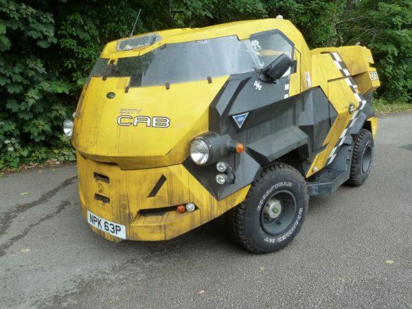 Judge Dredd Land Rover