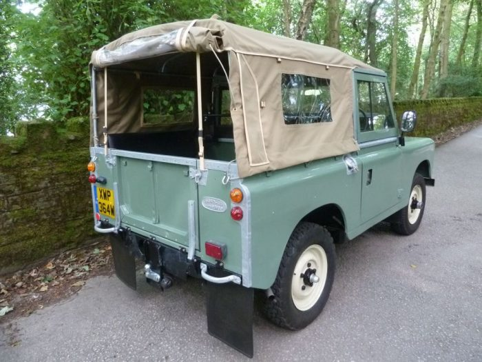 1980 Land Rover Series 3 Soft Top