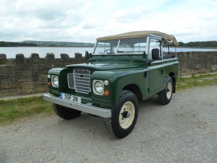 SSF 2N - 1974 Land Rover Series 3 Soft Top