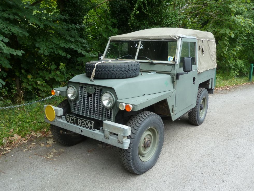 Vehicle Service Department Letter >> RCT 820H - Rare 1971 Land Rover Series IIA Lightweight ...